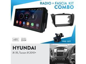 "UGAR EX6 7"" Android 6.0 Car Stereo Radio Plus 11-070 Fascia Kit for Hyundai iX-35, Tucson iX 2010+"