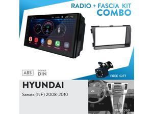 "UGAR EX6 7"" Android 6.0 Car Stereo Radio Plus 11-069 Fascia Kit for Hyundai Sonata (NF) 2008-2010"