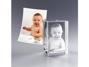 Personalized Custom 3d Photo Etched Engraving on Crystal Loving Gifts ( Birthday Gifts, Anniversary Gifts, Wedding Gifts, Corporate Gifts,Father's Day Gifts , Valentine's day gifts or Christmas Gifts)