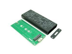 NGFF PCIe SSD to USB 3.0 Converter Adapter Enclosure B key B+M Key Compatible