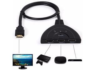 New 3 Port 1080P HDMI AUTO Switch Splitter HUB Box Cable fr DVD HDTV STB 2017