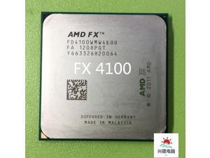 Original AMD FX 4100 3.6Ghz L3=8MB Quad-Core Processor Socket AM3 940-pin FX serial FX4100 cpu