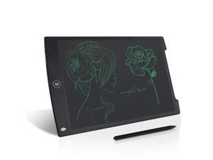Color : Green Drawing Accessories Howshow 12 inch LCD Pressure Sensing E-Note Paperless Writing Tablet//Writing Board Digital Drawing Board Black