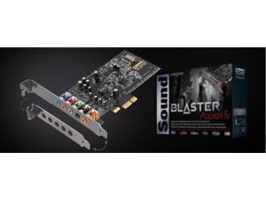 CREATIVE SOUND BLASTER AUDIGY FX SB1570 5.1 sound card PCI-E interface SBX Pro Studio 24bit / 96kHz 106dB SNR 600 ohms AMP