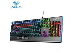 F2099 Gamer Mechanical Keyboard Blue Brown Switch Mix Backlit Wired Gaming Keyboard Anti-ghosting for Game Tablet Desktop
