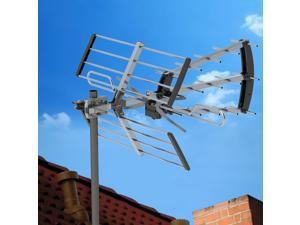 100Mile Indoor Outdoor TV Antenna Digital HDTV 1080P Deep Fringe Capable UHF