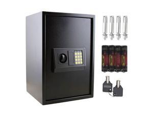 Large Electronic Safe Lock Box Security Digital Keypad Gun Jewelry Money Home