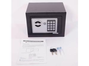STARK Digital Electronic Safe Box Keypad Lock Home Office Hotel Gun Steel Black