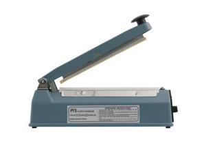 "Metal 12"" Heat Sealing Hand Impulse Sealer Machine Poly Element Plastic Sealer"