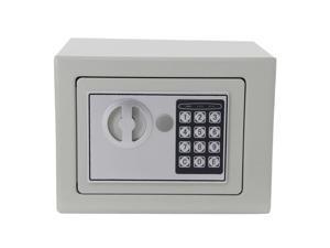 "9"" Electronic Digital Safe Box Keypad Lock Home Security Office Hotel Safety"