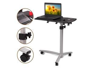 Adjustable Height Stand Desk Computer Workstation Lift Rising Laptop Table