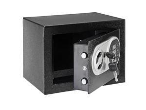 Popular Electronic Security Steel Digital Safe Box Lock Fireproof Cash Gun Black