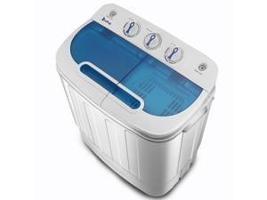 ZOKOP 13LBS Portable Washing Machine Compact Twin Tub Laundry Washer Spin Dryer