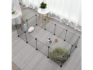 Portable Pet Playpen Puppy Dog Fences Gate Home Indoor Outdoor Fence Exercise