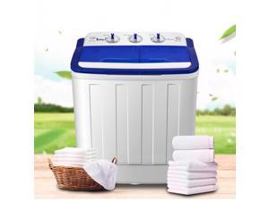 Best Price Portable Compact Mini Twin Tub Washing Machine 16LBS High Quality