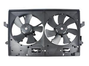 Dual Radiator Condenser Fan For//Fit 5325 01-03 Dodge Neon Automatic 4-Speed 2.0L
