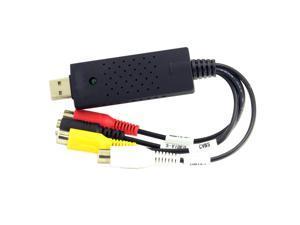 USB 2.0 Audio Video CAP TV DVD VHS S-Video Capture DVR Sureveillance 4 Channel