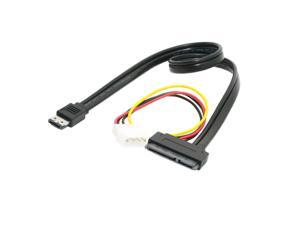 """Power ESATA Combo to SATA 22pin & IDE 5V 12V for 3.5"""" 2.5"""" Hard Disk Cable 0.5m"""