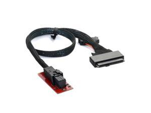 U.2 U2 Kit SFF-8639 NVME PCIe SSD Adapter & Cable for Mainboard Intel SSD 750
