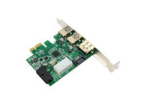 USB 3.0 & Power Over Esata & 19pin USB Header Combo Pci-e PCI Express Card