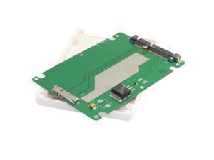 "7mm 2.5"" SATA 22pin to Macbook A1425 A1398 MC975 SSD hard disk case"