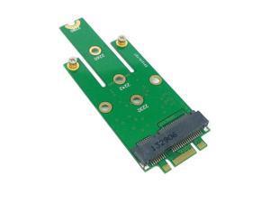 M.2 NGFF PCI-E 2LANE Golden Finger Pin to50mm Mini-PCIE mSATA 18+8 SSD Hard Disk