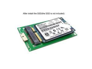 50mm mini PCI-E mSATA Solid State SSD to USB 3.0 hard disk case Enclosure