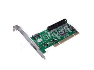 3 Port SATA +1 IDE PCI Controller RAID Card Adapter w/SATA cable