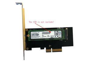 PCI-E 3.0 x4 Lane Host Adapter Converter Card M.2 NGFF M Key to Nvme PCI Express