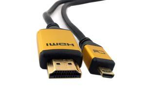 Micro HDMI to HDMI Cable for Moto Mobile Phone Acer Tablet Samsung DC DV