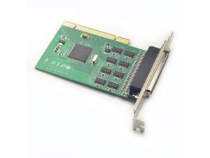 PCI I/O Card 8x Serial RS232 Ports PCI Card with TVS , Fan-out Cable SYBA SD6238
