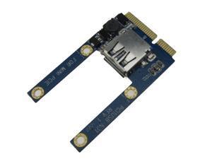 Mini PCIe to 1 ports USB adapter laptop Mini ITX Mini PCI Express to USB2.0 Card