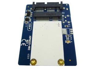 Micro SATA to mSATA Adapter Card