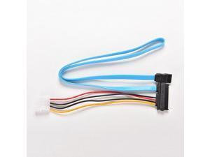 7Pin SATA Serial Female ATA to SAS 29Pin Connector Cable & 4Pin Male Power Cable