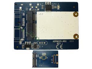 mSATA to 22pin SATA Adapter Card