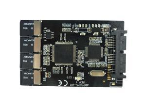 4x Micro SD to Micro SATA Adapter Card