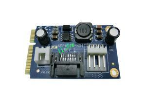 mSATA to 7pin SATA Adapter with Power connector Card