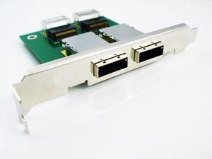 2 port Internal SFF-8087 to External 8088 PCI mini SAS 26P Adapter SAS RAID new