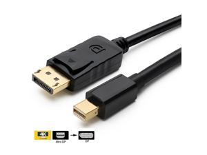CableDeconn Mini DP to DP Cable,Gold Plated Thunderbolt Port to DisplayPort 6f