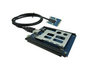 Mini PCIe USB 2.0 To ExpressCard 54 / 34 slot Adapter Card to Express Card