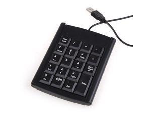 USB 19 Keys Keypad Numeric Keyboard Multifunction Wired Number Calculator