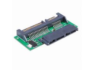"""1.8"""" Micro SATA to 7+15 22Pin 2.5 inch SATA Adapter Converter Card"""