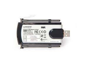 Linksys USB WiFi Adapter WUSB300N Wireless N card 802.11n with Antennas Adapter