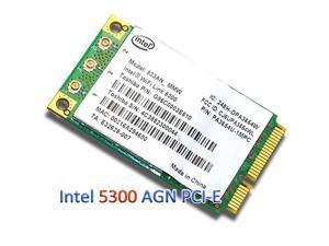 Intel 5300 5300AGN 450M WiFi PCI-E 802.11 n Dual band Laptop Wlan Wireless Card