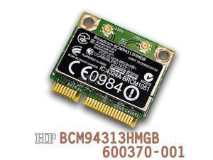 HP Broadcom BCM94313HMGB Wireless 802.11n wifi Bluetooth 600370-001 PCI-e Card
