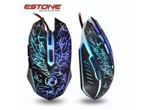 6D 2400DPI Havit Magic Eagle Optical Usb Gaming Mouse + Colorful Respiration LED
