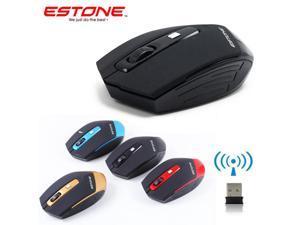2017 2.4GHz Wireless 1600DPI Ergonomic Optical Usb PC Mouse for Laptops Desktop