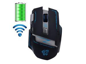 2.4GHz Wireless Rechargeable 2400DPI Actme V5 Battle 6 Buttons Optical Usb Mouse