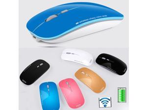 2.4GHz AZZOR N5 Rechargeable Wireless Mini Silent Slim Mouse for Apple Laptop PC
