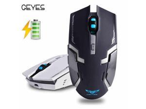2.4G Geyes i8 Silent Mute Chargeable Wireless Mouse Computer Notebook Usb Mice